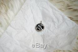 Antique Victorian French Agate Sterling Silver Locket