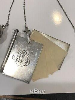 Antique Victorian Sterling Silver Chatelaine Foster & Bailey 1880-1900