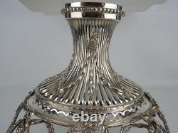 ENGLISH STERLING SILVER EPERGNE CENTERPIECE London 1891 by Charles Stuart Harris