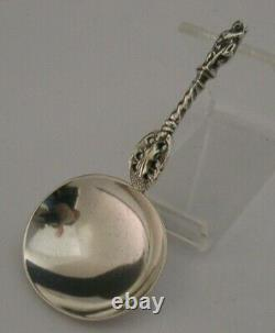 English Victorian Solid Sterling Silver Apostle Caddy Spoon 1864 Antique
