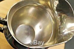 Gorham #182 Sterling Silver 4 1/4 Pint Pitcher 8 3/4 Tall Free Shipping
