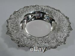 Kirk Bowl 179A Traditional Baltimore Repousse American Sterling Silver