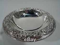Kirk Compote 436 Traditional Baltimore Repousse American Sterling Silver