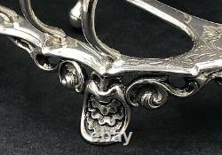 Large Victorian sterling silver toast rack London 1864