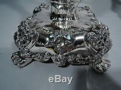 Tiffany Candelabra 12249 Antique Candlesticks American Sterling Silver