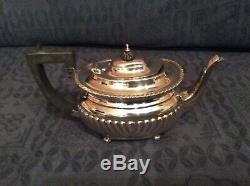 Victorian Sterling Silver Batchelors Teapot Chester Hallmark 1897 Approx 452g