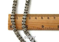 Victorian Sterling Silver Chain Necklace