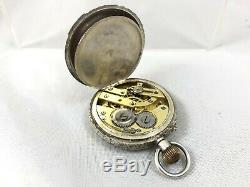 Victorian Sterling Silver Pocket / Fob Watch